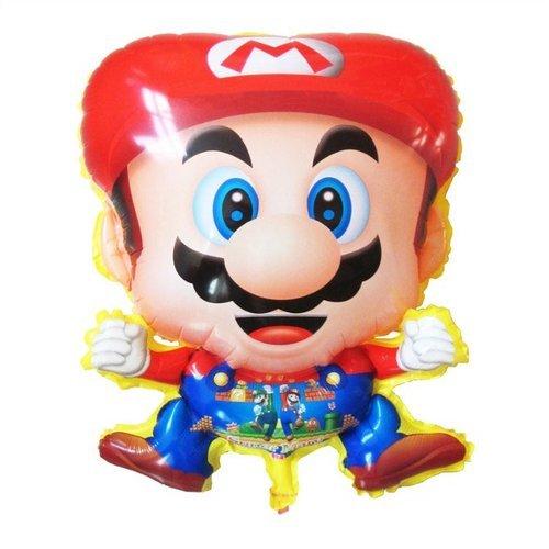 50 pcs/lot Mario Helium balloon Foil mylar balloons Children toys Balloons Classic toys
