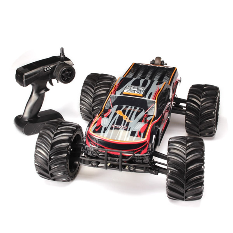 Brand New JLB Racing CHEETAH 1/10 Brushless RC Remote Control Car Monster Trucks 11101 RTR(China (Mainland))