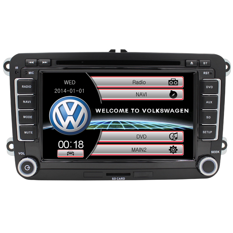 car dvd for VW passat b6 car dvd player with GPS navigation system bluetooth steering wheel control can bus(China (Mainland))