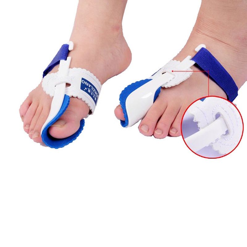 2Pairs Foot Care Tool Hot Beetle-crusher Bone Thumb Ectropion Toes Outer Appliance Health Care Pedicure Device (left and right)(China (Mainland))
