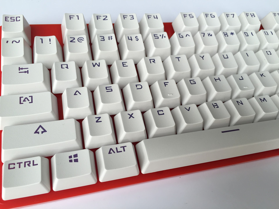 104 Double-shot Translucidus Backlit ABS Keycaps (cherry switches compatible)ANSI Mechanical Gaming Keyboard