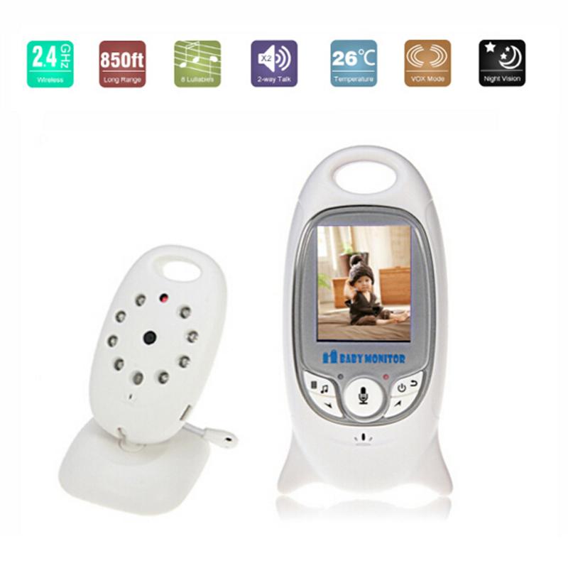Гаджет  Electronic 2.0 Inch Screen 2.4Ghz Wireless Video Baby Digital Camera Monitor with IR LED 2 Way Talk Audio  None Безопасность и защита