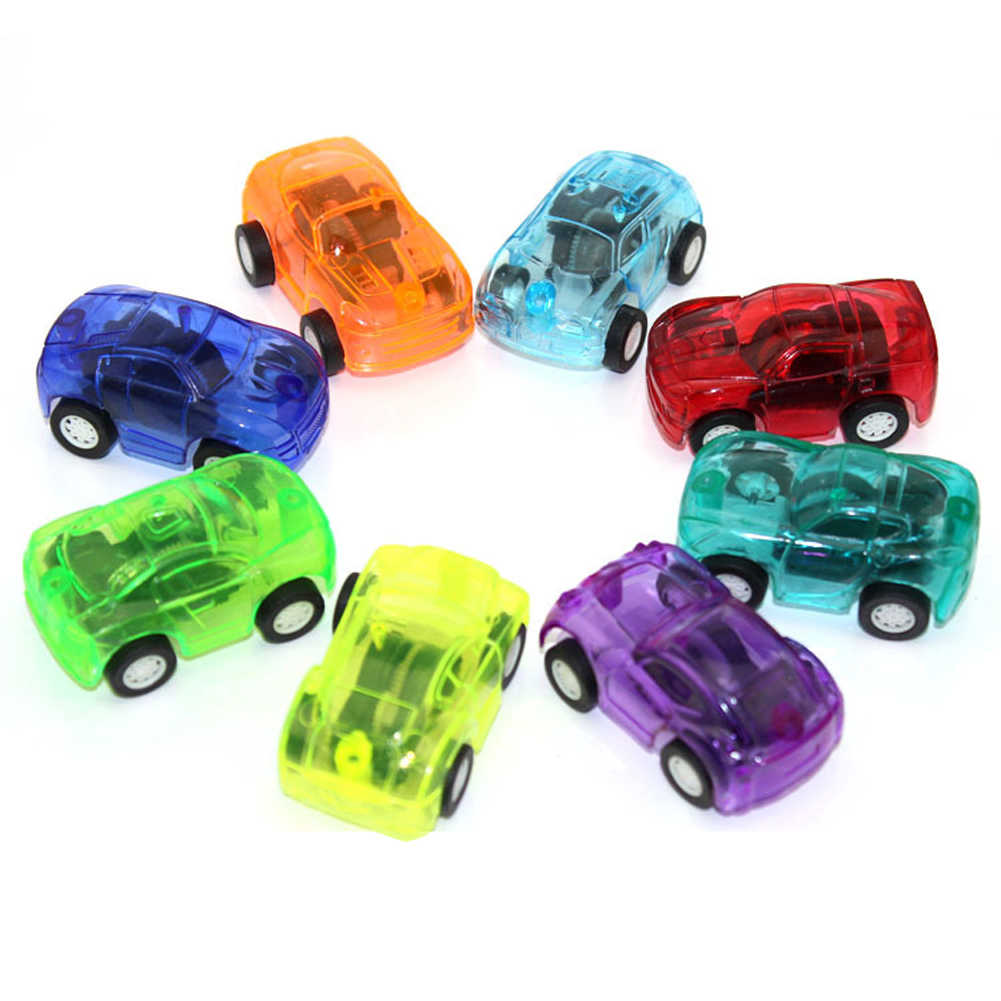 5pcs Baby Toys Pull Back Cars Plastic Cute Toy Cars for Child Wheels Mini Car Model Funny Kids Toy for Boys Random Color