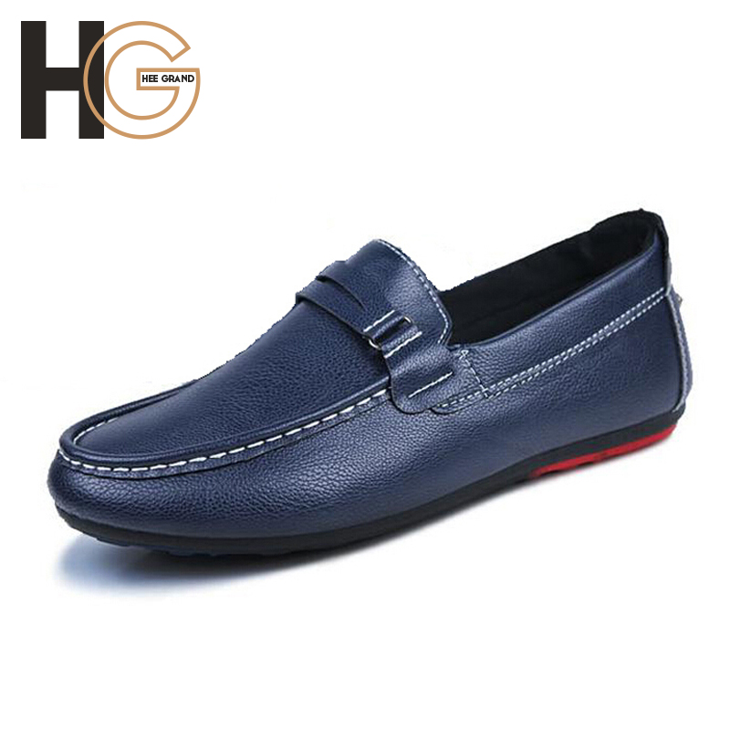 Sapatos Masculinos 2015 New Arrival Casual Slip-On Mens Shoes Fashion Korean Style Solid PU Leather Flats,Drop Shipping,XMP277<br><br>Aliexpress
