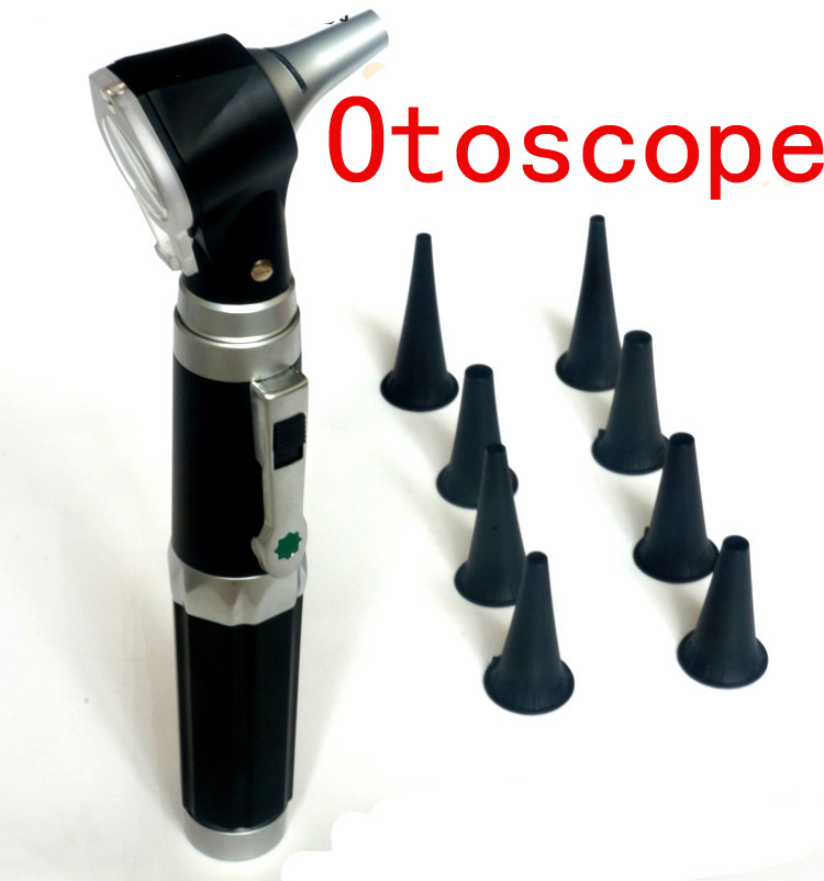 Ear Check Pen light Medical Flashlight Pen Ear Clean Tools Otoscope Diagnostic Set Ear Care Products
