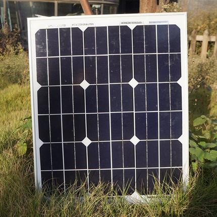 Cheap China Solar Panel 40 W 12V Monocrystalline PV Solar Energy Board Phototic Solar Cells for Home DIY Kit SFM 40 W(China (Mainland))