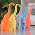 2016 High quality New Creative Silicone Tea Bag elephant shape tea Filter Infusers safe health 1