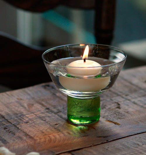 Floating Candles Glass Candlestick Fashion Home Decoration Crafts Glass Mousse Candle Cup Wedding Party Decoration OEM wholesale(China (Mainland))