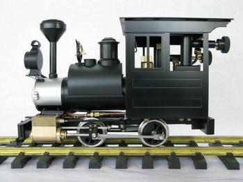 1:20.3 G scale brass made steam train model - USA Porter
