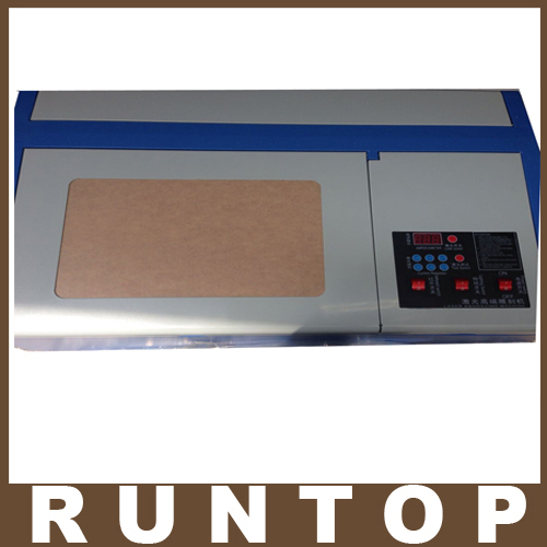 High Quality 110/220V 40W 200*300mm Mini CO2 Laser Engraver Engraving Cutting Machine 3020 Laser with USB Sport(China (Mainland))