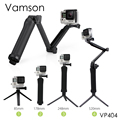 Gopro Accessories Tripod 3 Way Monopod Mount Grip Extension Arm Tripod for Gopro Hero5 4 3