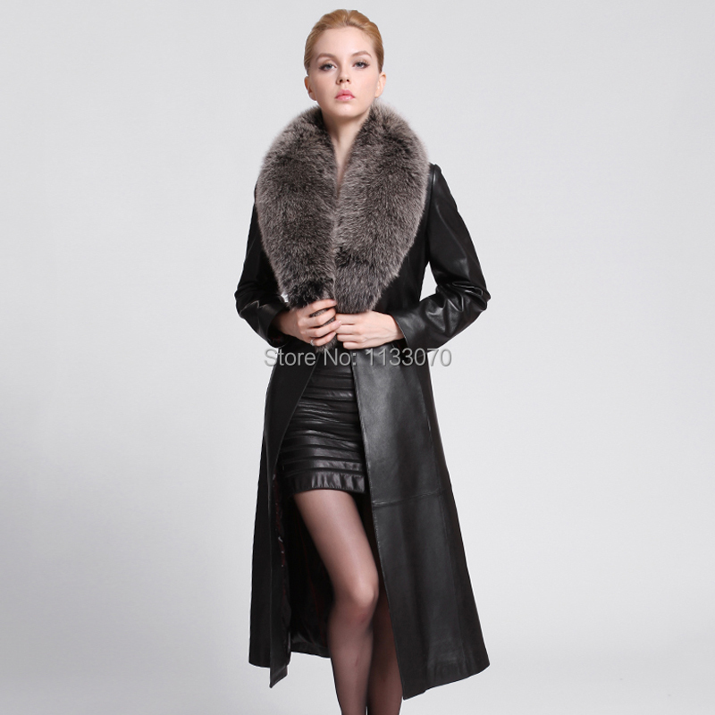 2014 Winter Guaranteed 100% Genuine Leather Jacket, Womens ...