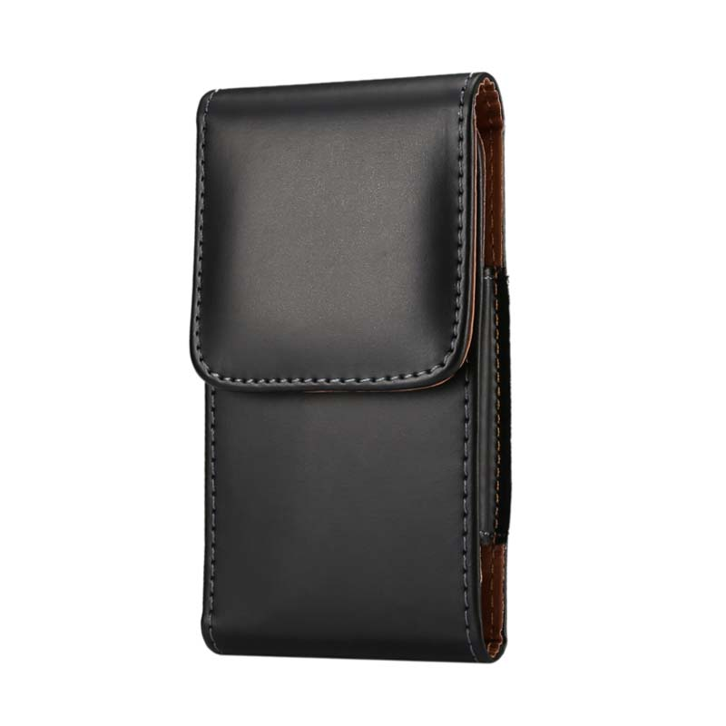 Vertical Smooth Pattern Belt Holster Pouch Case Faux Man Leather Carrying Pockets Case For Samsung Galaxy S7 / S7 Edge KS0006(China (Mainland))