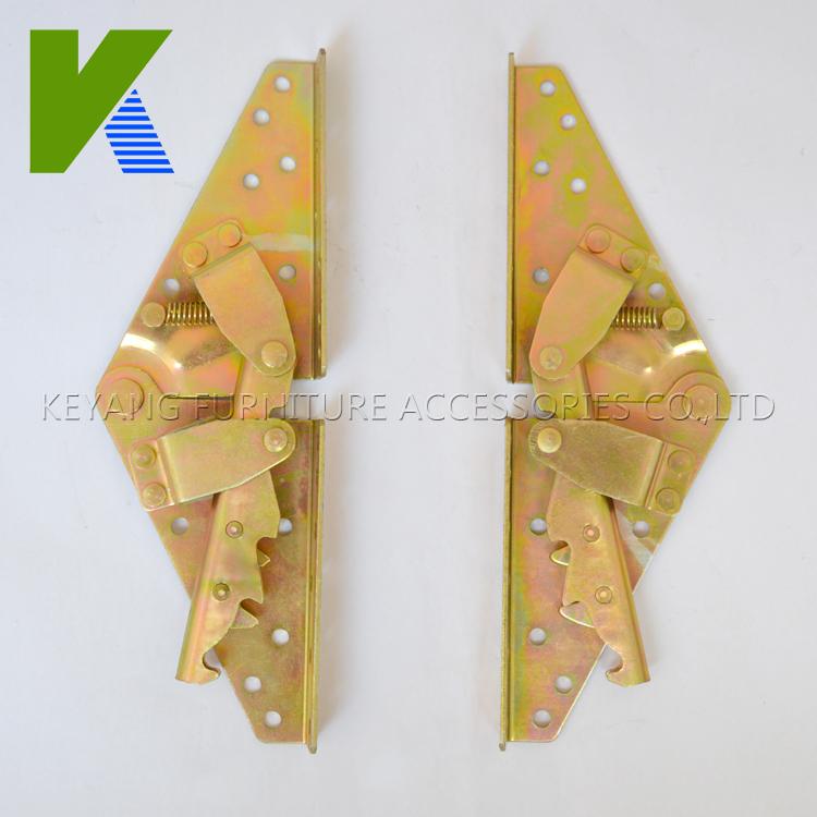 High Quality Folding Furniture Hinges Adjustable Sofa Bed Mechanism KYA022(China (Mainland))