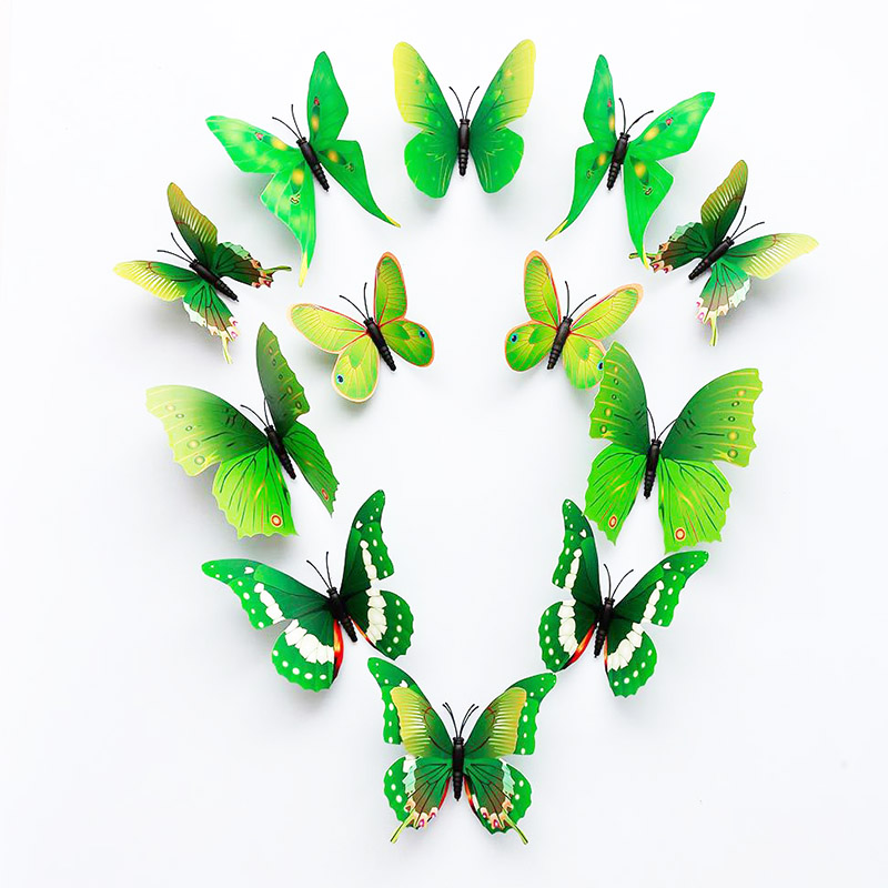 buy wall stickers 3d butterfly butterflies green yellow 43 best images about the butterfly project on pinterest