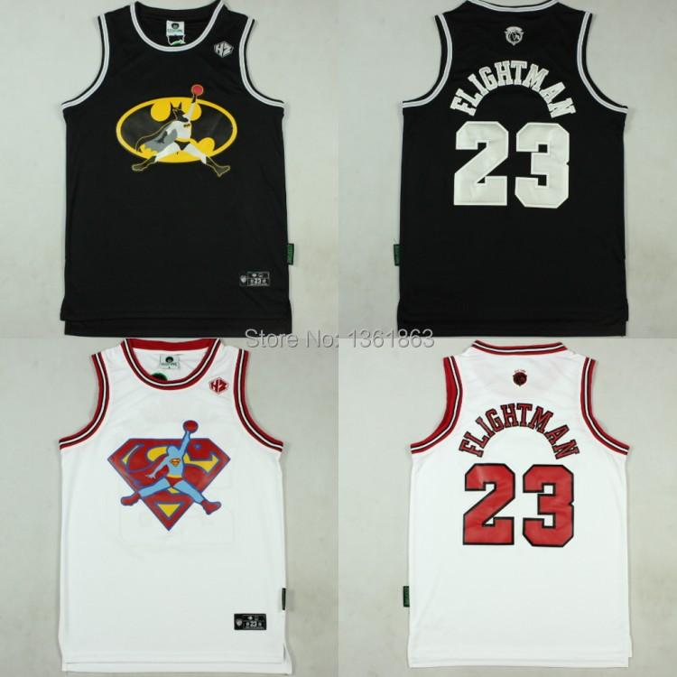 Basketball Jersey #23 Michael Jordan Batman Superman Shape Flight Man - Vito_sport1 store