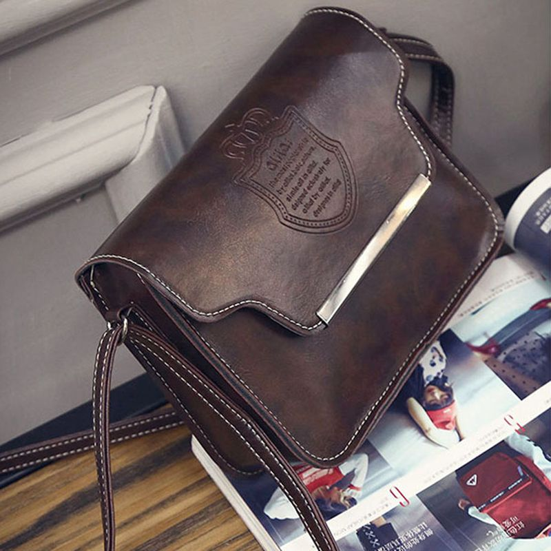 2016 Vintage Women Shoulder Bags Retro Ladies Messenger Bags Casual Women Leather Handbags Girl Crossbody Bag Bolsas(China (Mainland))