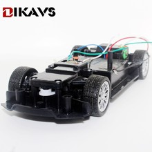 Buy 3 6v Remote Control Car Racing Car Drift Remote Steering Chassis arduino for $7.99 in AliExpress store