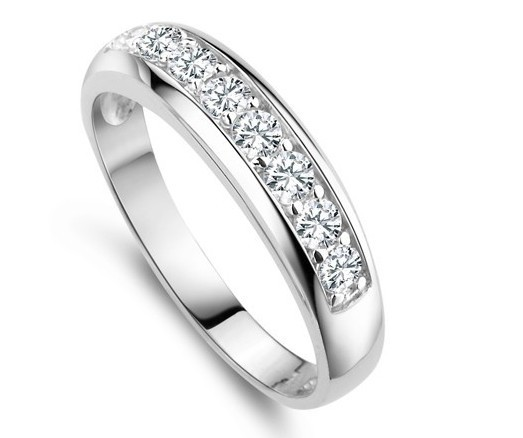 925 Sterling Silver Wedding Band Rings for Women Simulated Diamond the Engagement Ring 2015 Jewelry Gift Wholesale Ulove J294(China (Mainland))