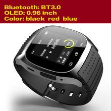 Лучший Smartwatch Bluetooth 4.0 наручные часы для Android смартфон часы бренд мужской 2015 Smartwatch с шагомер / анти-потерянный
