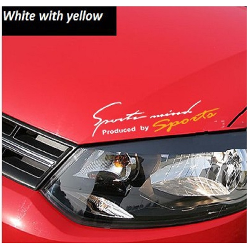 Light eyebrows modified bonnet hood sticker car stickers small size car-styling accessories car-covers automobiles - Find Something Here store