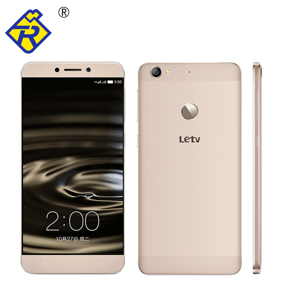 Original Letv LeEco 1S X500 4G LTE Cell Phone MTK6795 Octa Core 2.2GHz 1920x1080P 3GB RAM 5.5inch 13.0MP Android 5.1 3000mAH