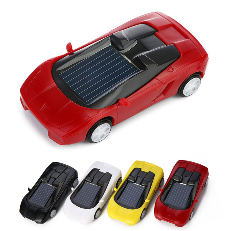 Kids' Favorites!! Small But Cute Solar Car Toy Outdoor Toy Children Educational Toy Novelty & Gag Toys Kids Gifts(China (Mainland))