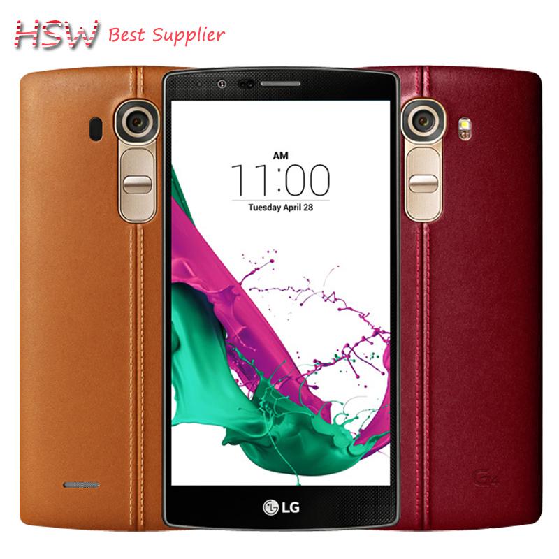 Original Unlocked LG G4 H815 EU Hexa Core 3GB RAM 32GB ROM 5.5 '' Cell Phone 16.0MP Camera 4G LTE with free Tempered Glass Film(China (Mainland))