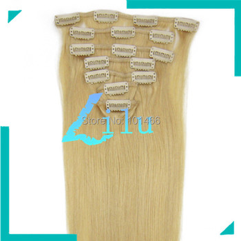 """TOP QUALITY 20""""Clip in 7pcs Hair Extension #24,70g/set"""