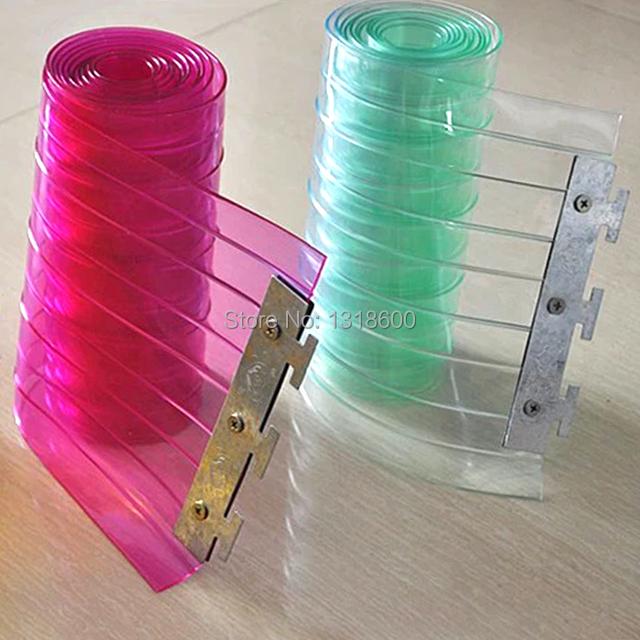 Coupe vent doux rideau personnaliser en plastique - Cloison plastique transparent ...