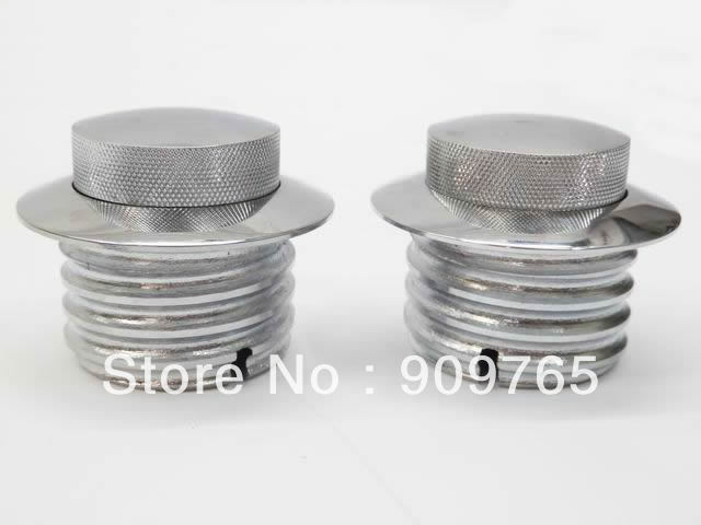 Free Shipping 1 Pair GAS FUEL TANK FLUSH POP UP CAP FOR font b HARLEY b