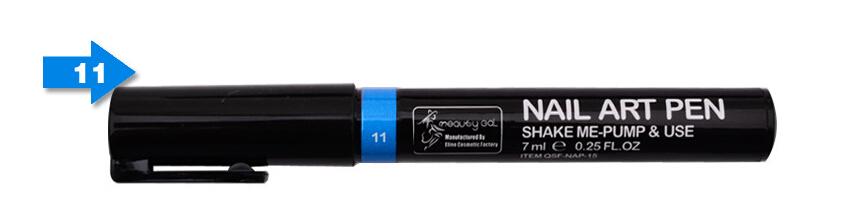 Nail Art Pen for 3D Nail Art DIY Decoration Nail Polish Pen Set 3D Design Nail Beauty Tools Paint Pens 2pcs/lot mjb11(China (Mainland))