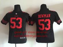 100% stitched youth San Francisco 49ers children 16 Joe Montana 42 Ronnie Lott 80 Jerry Rice 82 Torrey Smith 81 Anquan Boldin(China (Mainland))