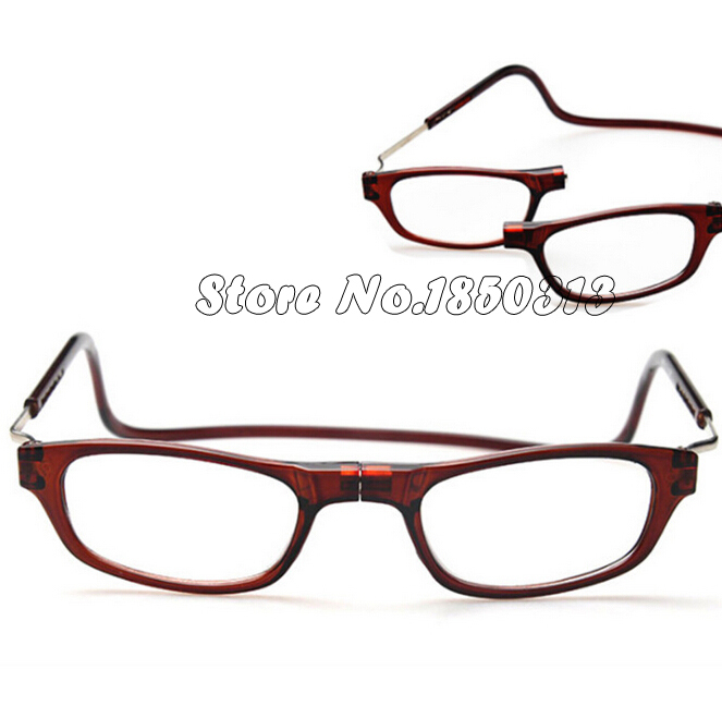 new fashion folding magnetic reading glasses front connect