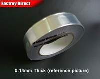 0.14mm Thick, (10mm*25M) Single Adhesive Aluminum foil Tape