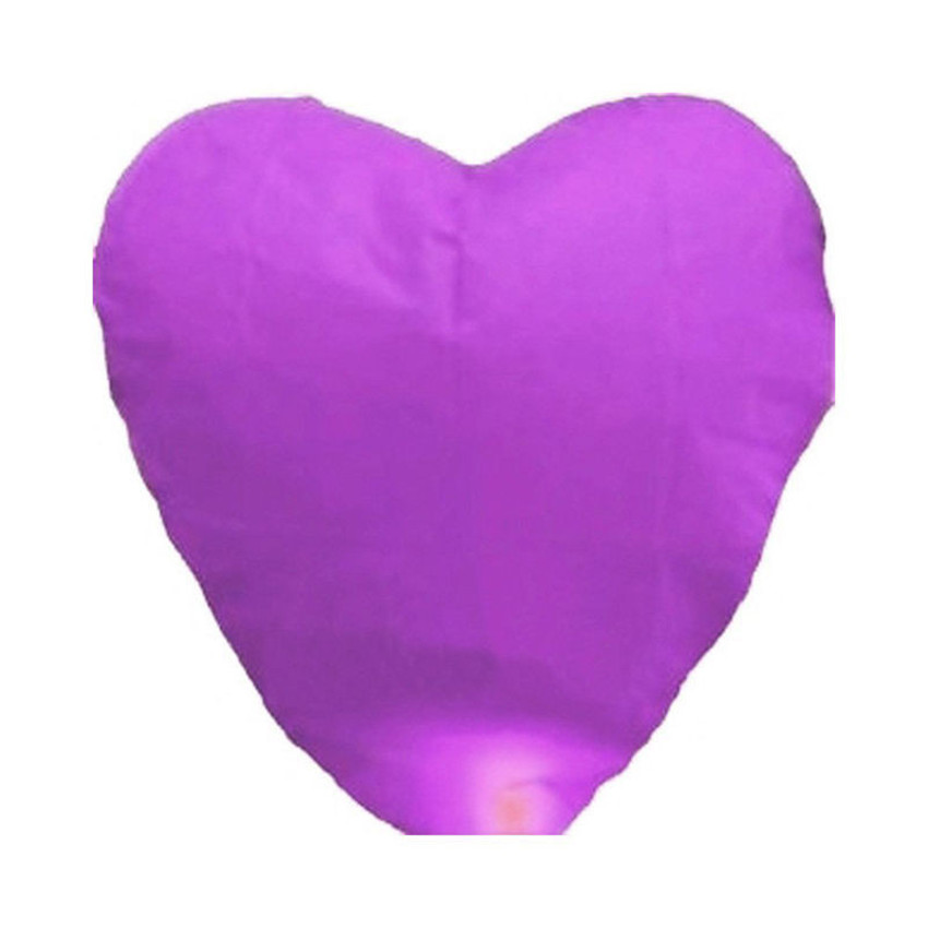 10pcs purple Paper Chinese Lanterns Fire Sky Fly Candle Lamp for Birthday Wish Party Wedding Decoration(China (Mainland))