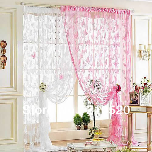 Home Decor Curtains green gold and pink color combination floral window curtains pink color trends for spring decorating Browse S Fort Bay Somerset Curtain Panel 50