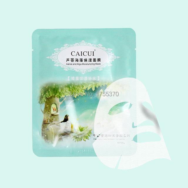 Новые алоэ и водоросль завод коллаген кристалл маска антивозрастной увлажняющий отбеливающая маска для лица уход за лицом продукта для женщин