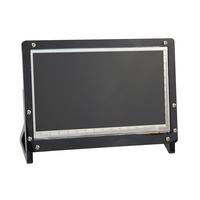 Black 7 Inch LCD Display Screen Housing Bracket For Raspberry Pi 3 LCD Acrylic Bracket for 7 inch raspberry pi LCD 800 *480
