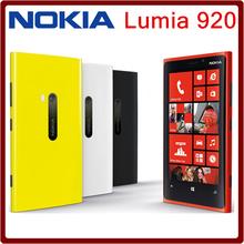 Original unlocked Nokia Lumia 920 Mobile Phones 4.5 inch Capacitive screen Dual core 32G ROM 1G RAM Free shipping(China (Mainland))