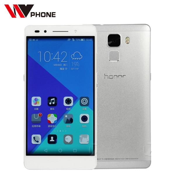 Original Huawei Honor 7 4G FDD Mobile Phone 5.5'' IPS 1080P Hisilicon kirin 935 Octa Core 3G RAM 16G ROM Android 5.0 Smart Phone(China (Mainland))