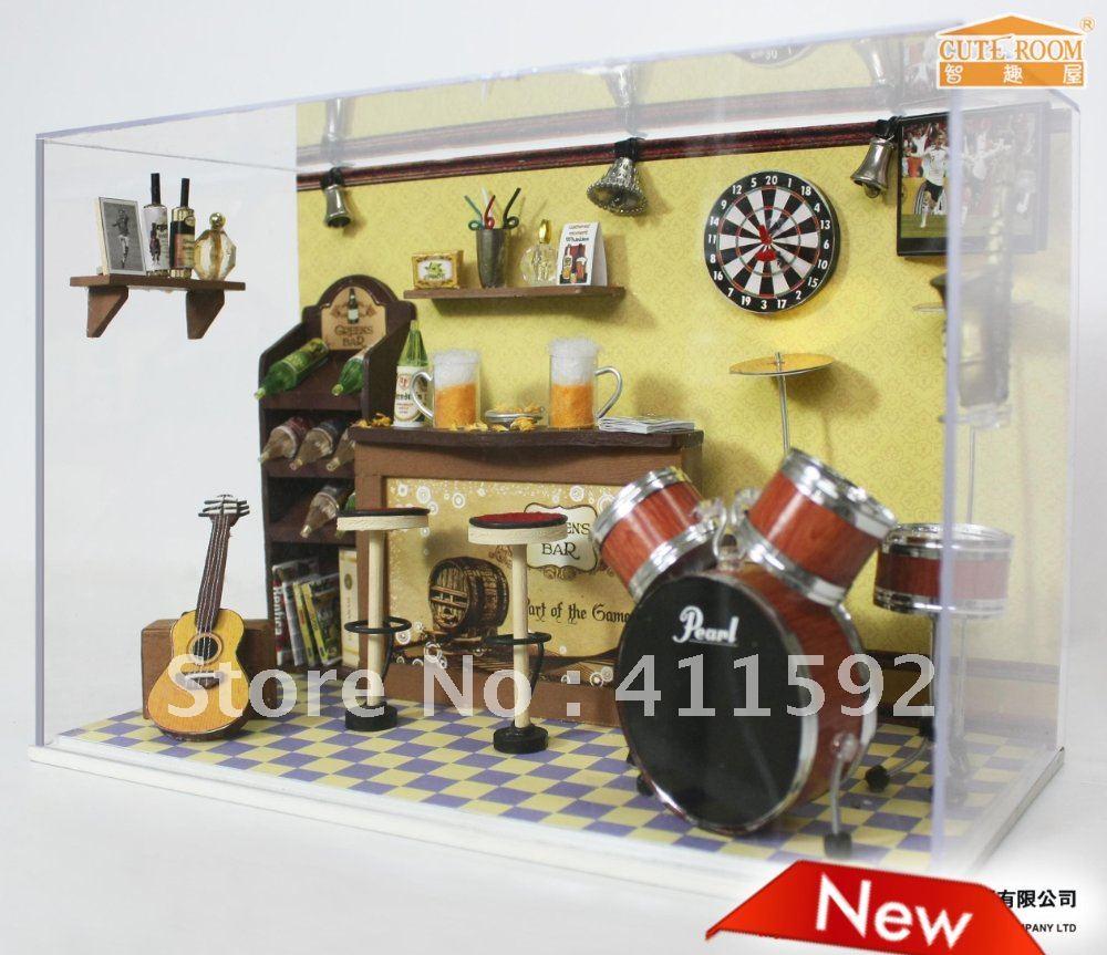 diy doll house building doll furniture