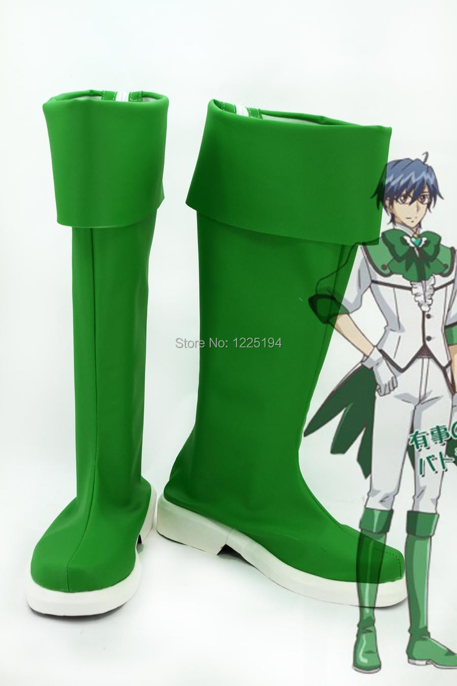 Cute High Earth Defense Club Love! Defense Club Atsushi Kinugawa High Boots Shoes Anime Cosplay EU US Size Custom Made Style AОдежда и ак�е��уары<br><br><br>Aliexpress