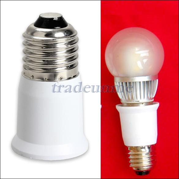 Free Shipping Hot Sale E27 To E27 Extension Base Clf Led