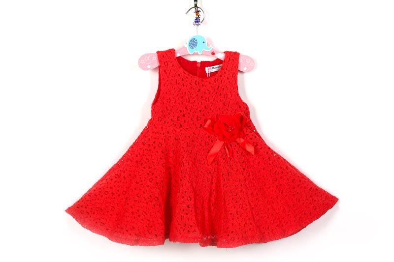 Summer girls Kids dress fashion lace Flowers princess dress Brands sleeveless party birthday dresses children clothings for girl<br><br>Aliexpress