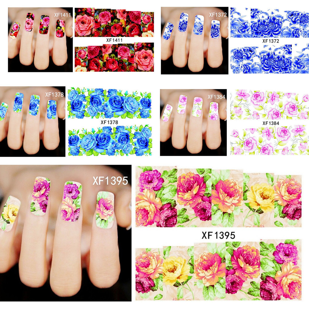 Nail Art Ideas Nail Art Flower Stickers Pictures Of Nail Art