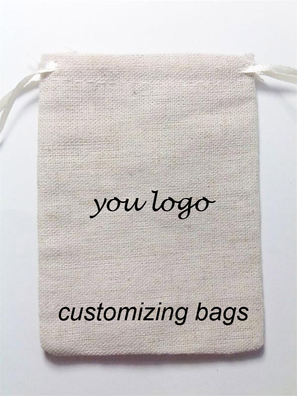 unbleached cotton bag natural(China (Mainland))