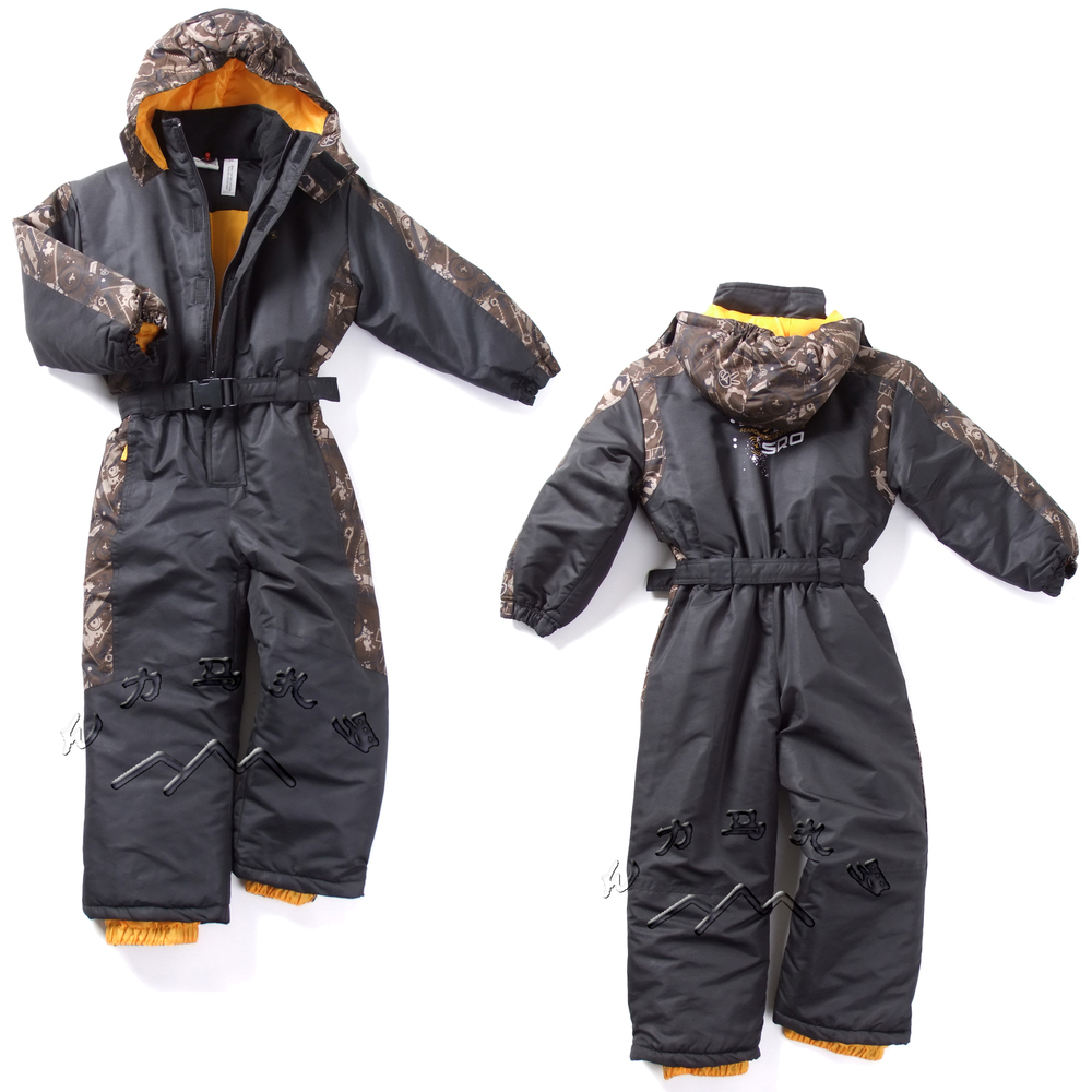 18M-6T Childrens ski suits Germany brand thick warm winter outdoor clothes baby boys girls snow clothes set<br><br>Aliexpress
