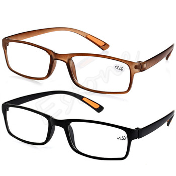 U119 Free Shipping New Resin Framed Eyeglass Reading Glasses +1.0 1.5 2.0 2.5 3.0 3.5 4.0 Diopter