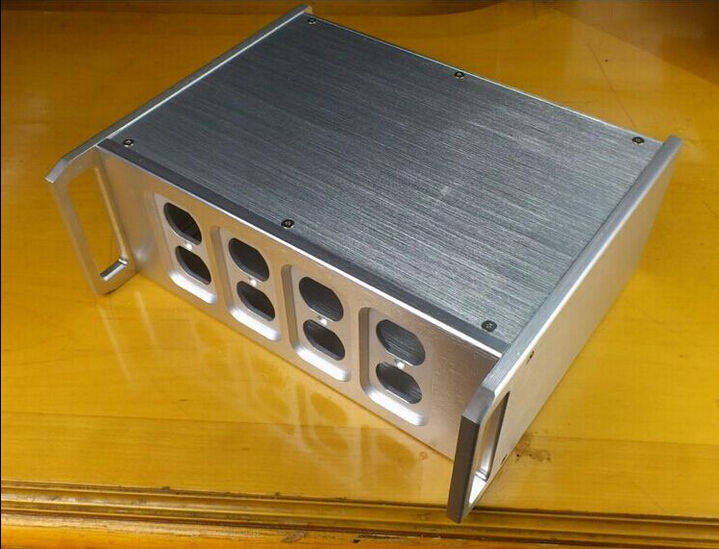 Фотография N3212 Aluminum With handle amplifier Enclosure/chassis/preamp case/amp box